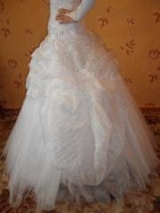 Белоснежное свадебное платье г. Лида