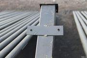 Металлические грунтованные столбы. Бесплатная доставка по РБ!