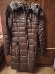 Пуховик женский на зиму